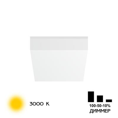 CLD52K10W Вега Св-к Встр. 10W*3000K CLD52K10W