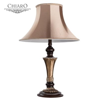 Настольная лампа CHIARO 639030401 Версаче 1*60W E27 220 V Кантри 639030401