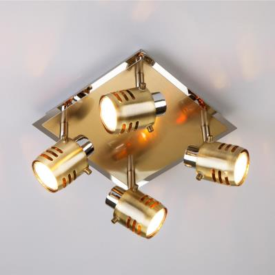 Спот Eurosvet Leonardo 23463/4 хром / античная бронза 23463/4