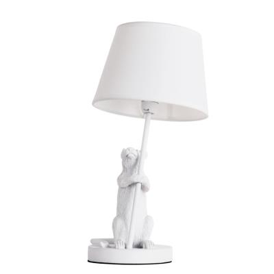 Светильник настольный Arte Lamp Gustav, A4420LT-1WH, 40W, E14 A4420LT-1WH
