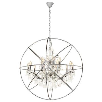 Светильник подвесной Loft it Foucaults Orb Crystal LOFT1896/15 E14 40W LOFT1896/15