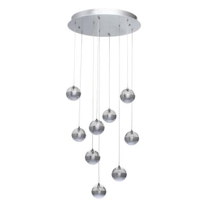 Светильник потолочный каскад De Markt Капелия 730010209 Модерн 730010209