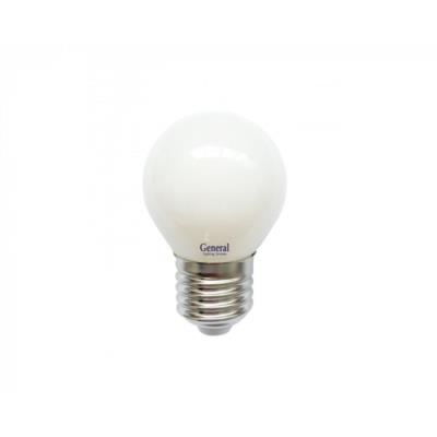 Лампочка филаментная General, 649968, 7W, E27 GLDEN-G45S-M-7-230-E27-2700