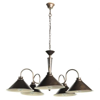 Люстра подвесная Arte Lamp BEVEL A9330LM-5BR A9330LM-5BR