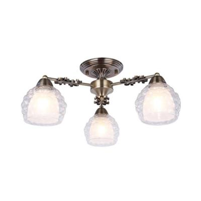 Люстра потолочная Arte Lamp MALINA A7695PL-3AB 3x60Вт E27 A7695PL-3AB