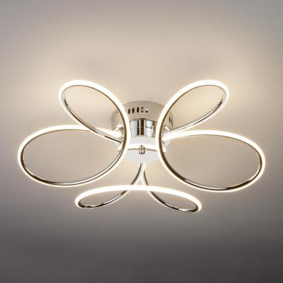 Светодиодный потолочный светильник Eurosvet Lozanna 90083/3 хром 90083/3