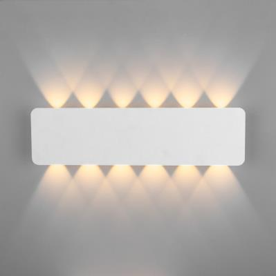Настенный светодиодный светильник Eurosvet Angle 40139/1 LED белый 40139/1 LED