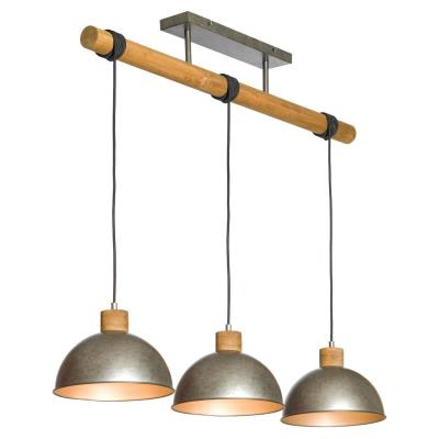 Подвесной светильник Lussole KERR GRLSP-8149 Классика серый E27 30Вт GRLSP-8149