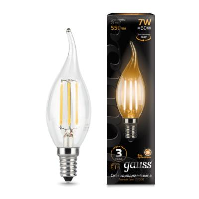 Лампочка светодиодная Gauss, 104801107, 7W, E14 104801107