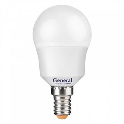 Лампочка светодиодная General, GLDEN-G45F-7-230-E14-2700, 7W, E14 640600