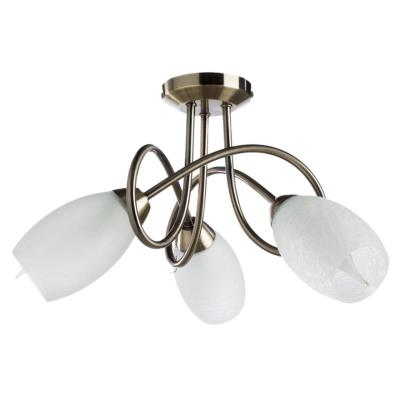 Люстра потолочная Arte Lamp MUTTI A8616PL-3AB 3x40Вт E14 A8616PL-3AB