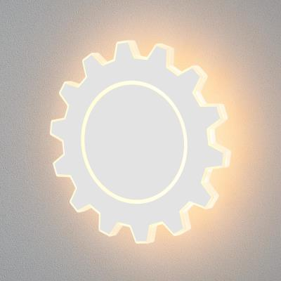 Gear L LED белый Настенный светодиодный светильник MRL LED 1100 MRL LED 1100