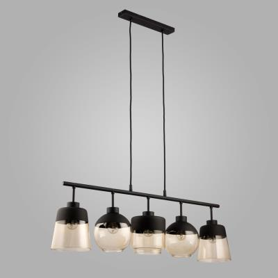Светильник со стеклянными плафонами на подвесе TK Lighting Amber 2382 Amber 2382
