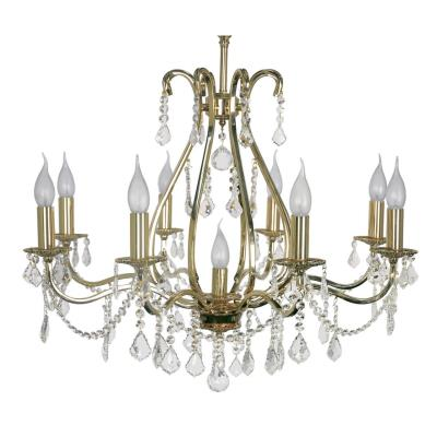 Светильник подвесной Arti Lampadari Ercolano Gold, Ercolano E 1.1.8.602 G, 360W, E14 Ercolano E 1.1.8.602 G