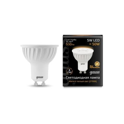 Лампочка светодиодная Gauss, 101506105, 5W, GU10 101506105