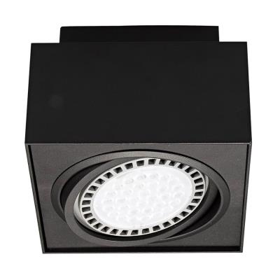 Светильник точечный Zumaline BOXY CL 1 20074-BK 20074-BK