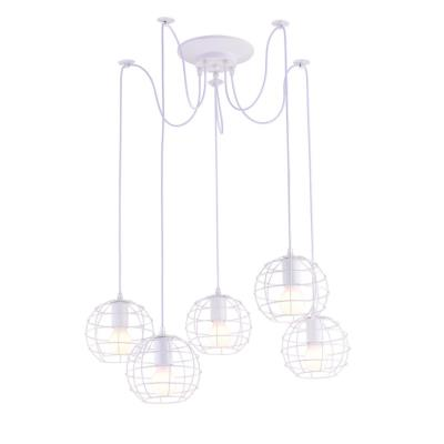 Люстра подвесная Arte Lamp SPIDER A1110SP-5WH 5x60Вт E27 A1110SP-5WH
