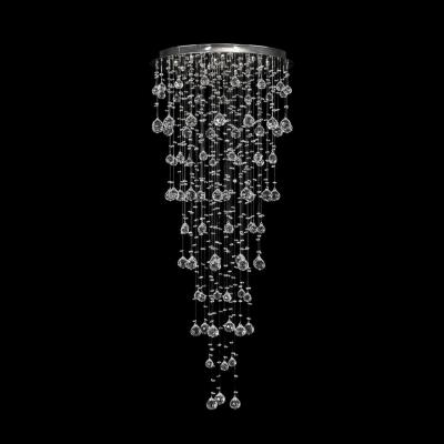 Светильник потолочный Dio D`arte Tesoro Nickel, Tesoro H 1.4.55.218 N, 480W, G9 Tesoro H 1.4.55.218 N