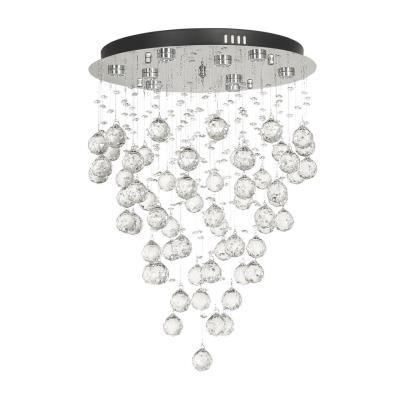 Светильник потолочный Arti Lampadari Flusso Nickel, Flusso L 1.4.45.601 N, 60W, LED Flusso L 1.4.45.601 N