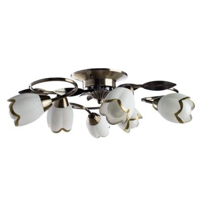 Люстра потолочная Arte Lamp PERCE A6061PL-6AB 6x60Вт E14 A6061PL-6AB