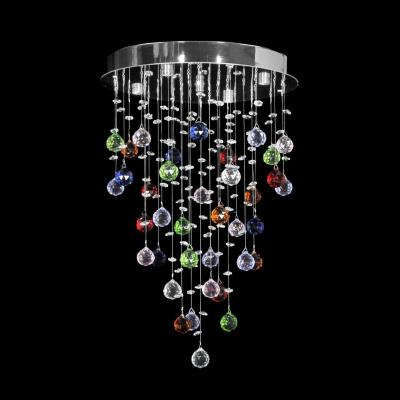 Светильник потолочный Dio D`arte Tesoro Nickel, Tesoro H 1.4.35.213 N, 160W, G9 Tesoro H 1.4.35.213 N