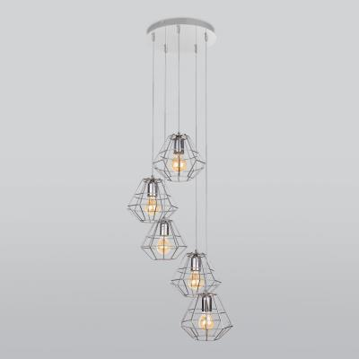 Подвесной светильник TK Lighting Diamond Silver 4289 Diamond Silver 4289