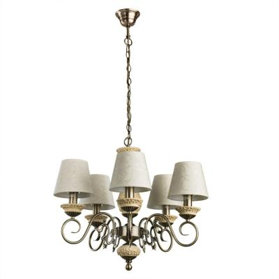 Люстра подвесная Arte Lamp IVORY A9070LM-5AB 5x60Вт E14 A9070LM-5AB