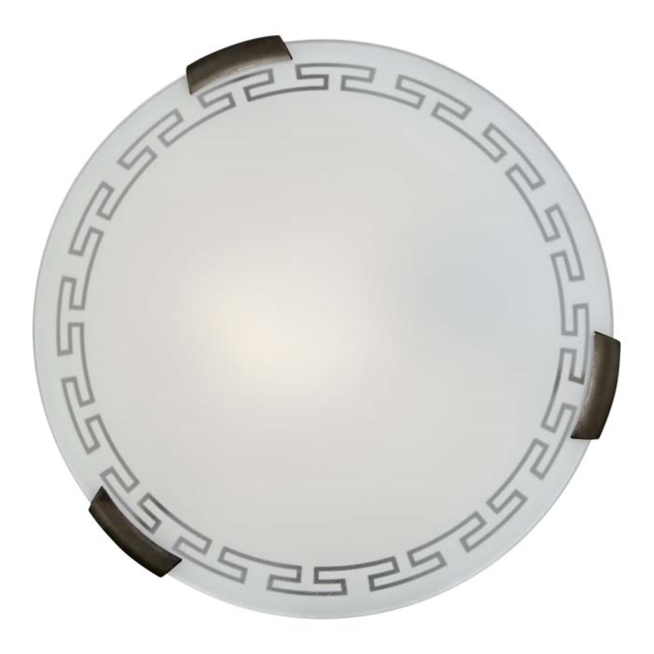 261 SN 105 св-к GRECA стекло E27 2*100Вт D400