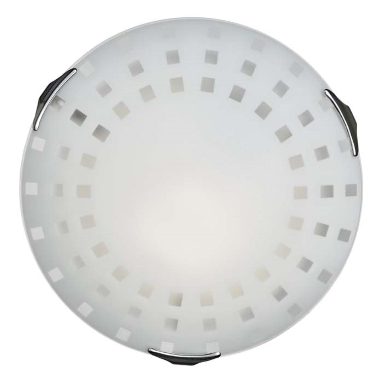 362 SN 103 св-к QUADRO WHITE стекло E27 3*100Вт D500