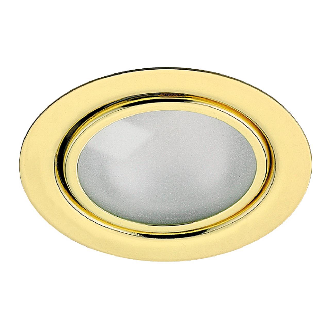 369121 SPOT NT09 134 золото Встраиваемый НП светильник G4 20W 12V FLAT