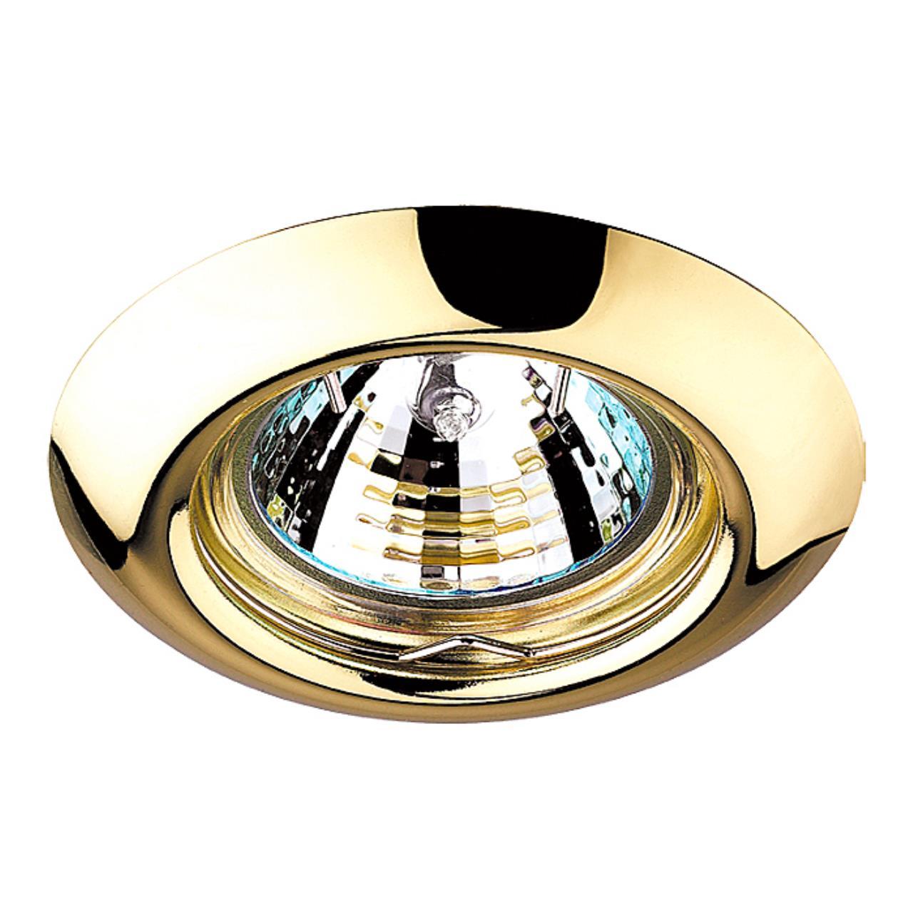 369113 SPOT NT09 379 золото Встраиваемый НП светильник GX5.3 50W 12V TOR