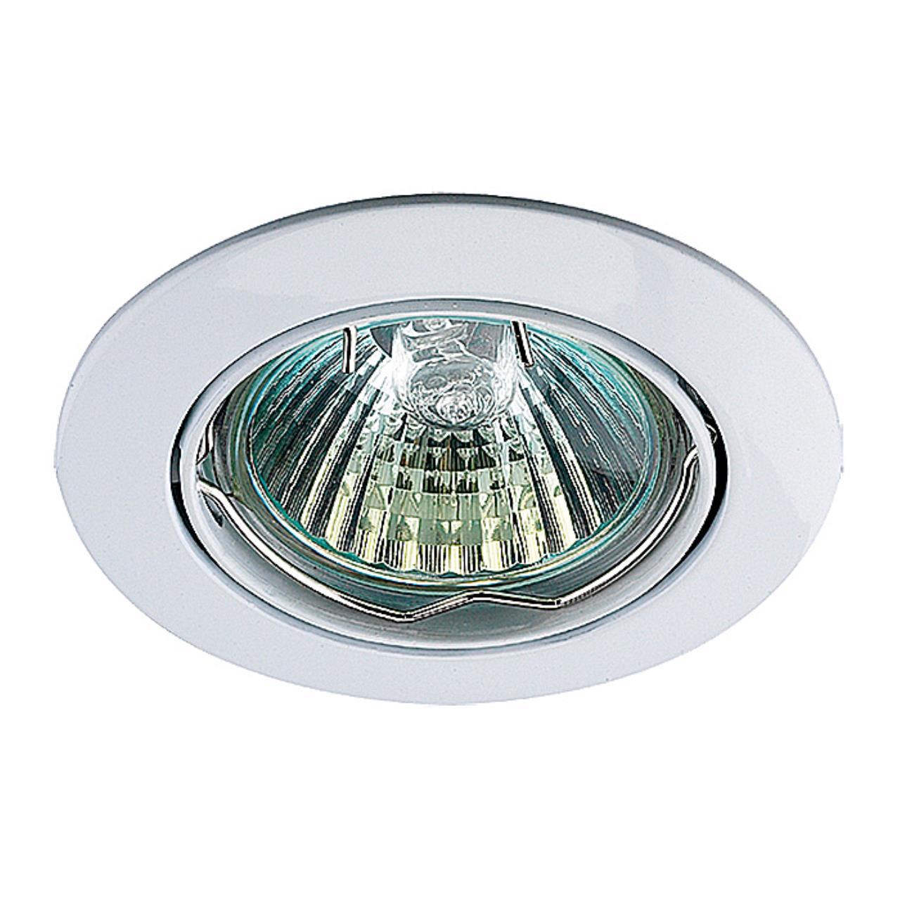 369100 SPOT NT09 135 белый свет Встраиваемый светильник IP20 GX5.3 50W 12V CROWN