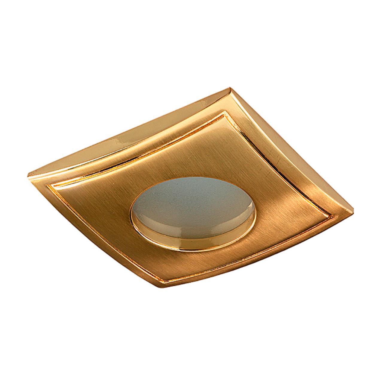369308 SPOT NT09 138 золото Встраиваемый НП светильник IP65 GX5.3 50W 12V AQUA