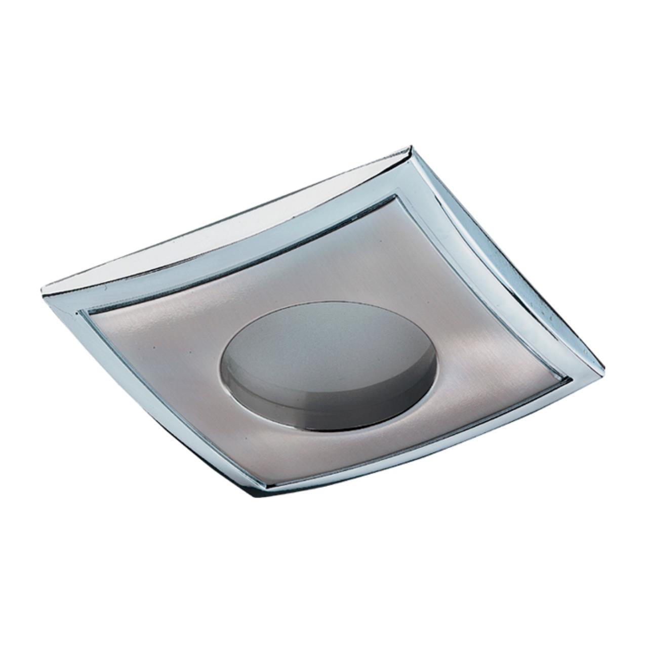369306 SPOT NT09 138 никель/хром Встраиваемый НП светильник IP65 GX5.3 50W 12V AQUA