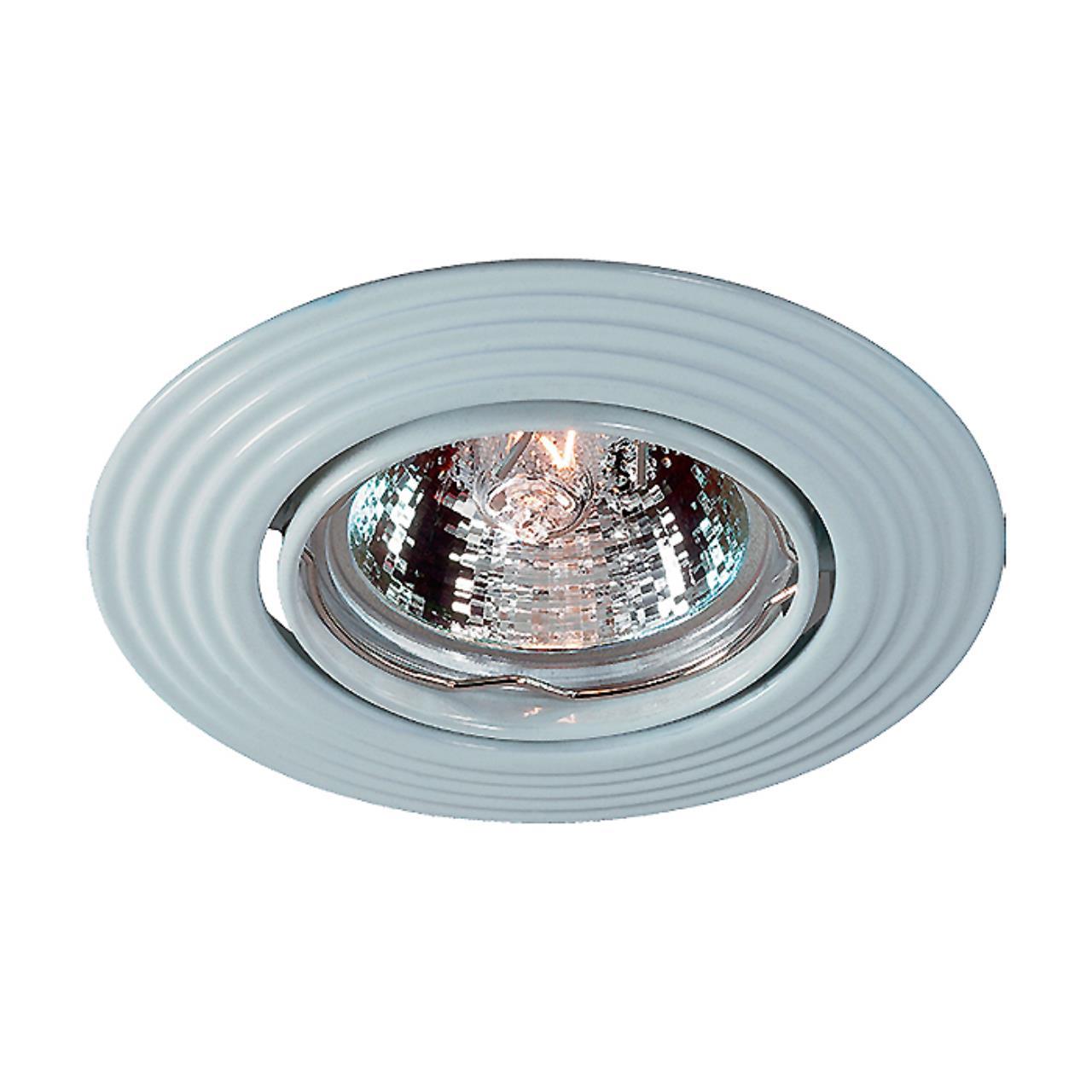 369434 SPOT NT10 137 белый свет Встраиваемый ПВ светильник IP20 GX5.3 50W 12V ANTIC