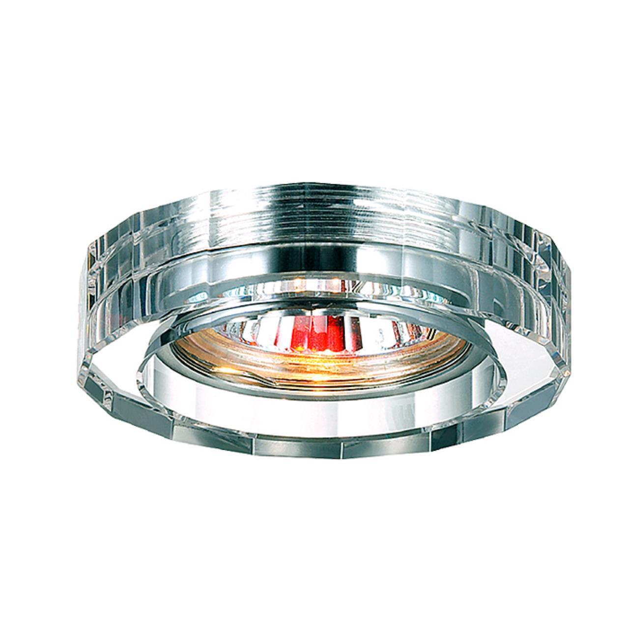 369487 SPOT NT09 131 прозрачный Встраиваемый светильник GX5.3 50W 12V GLASS