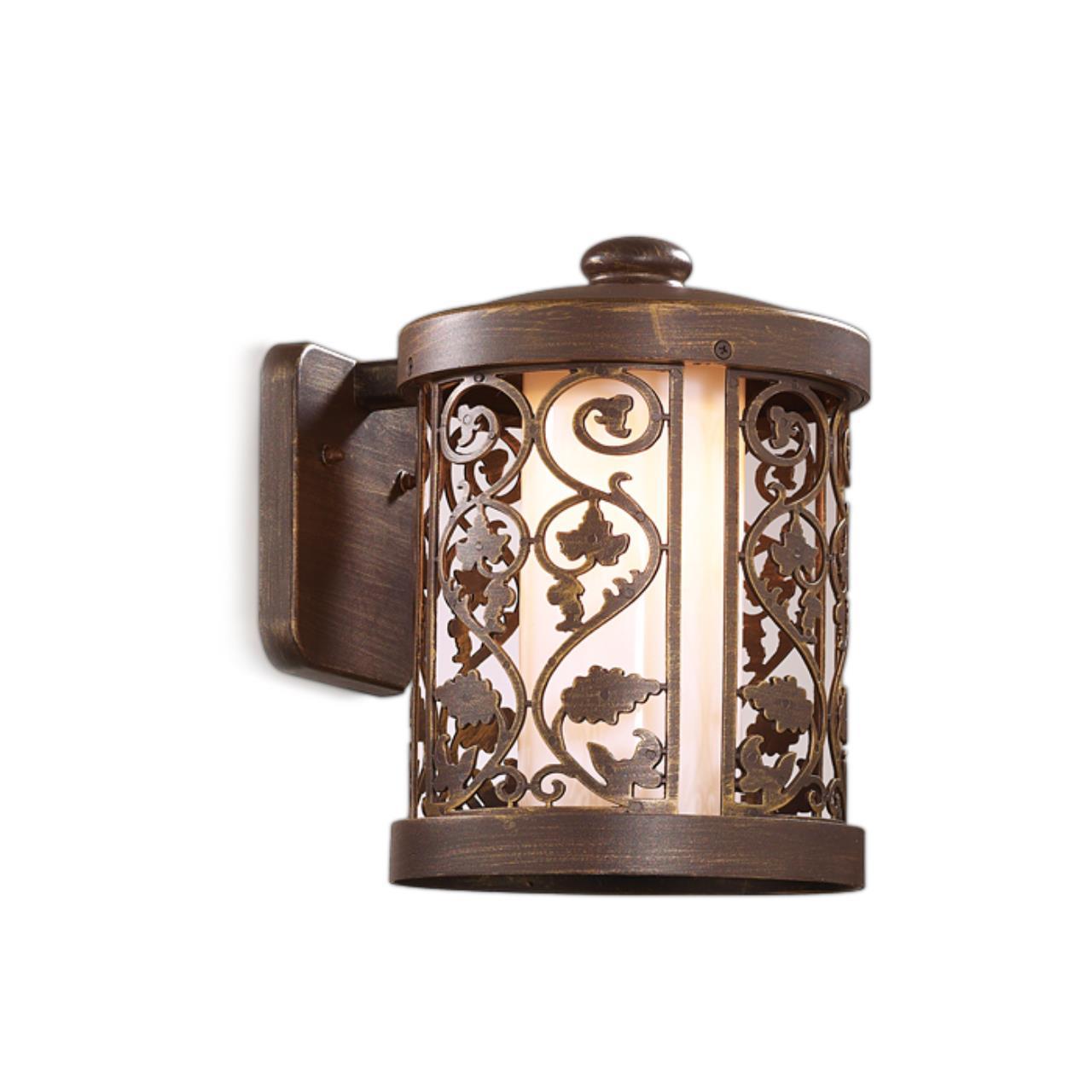 2286/1W NATURE ODL12 715 патина коричневый Уличный настен светильник IP44 E27 100W 220V KORDI