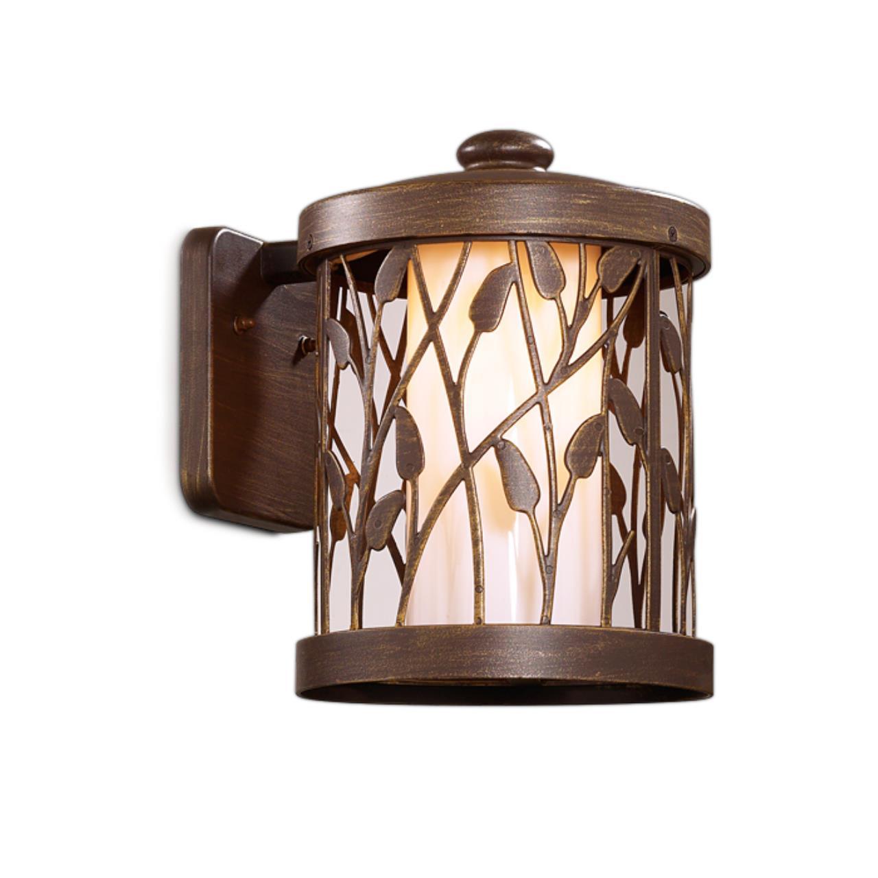 2287/1W NATURE ODL12 715 патина коричневый Уличный настен светильник IP44 E27 100W 220V LAGRA