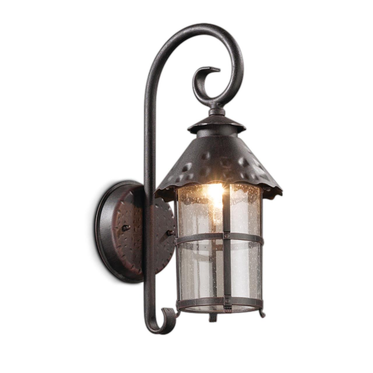 2312/1W NATURE ODL12 717 коричневый Уличный настен светильник IP44 E27 60W 220V LUMI