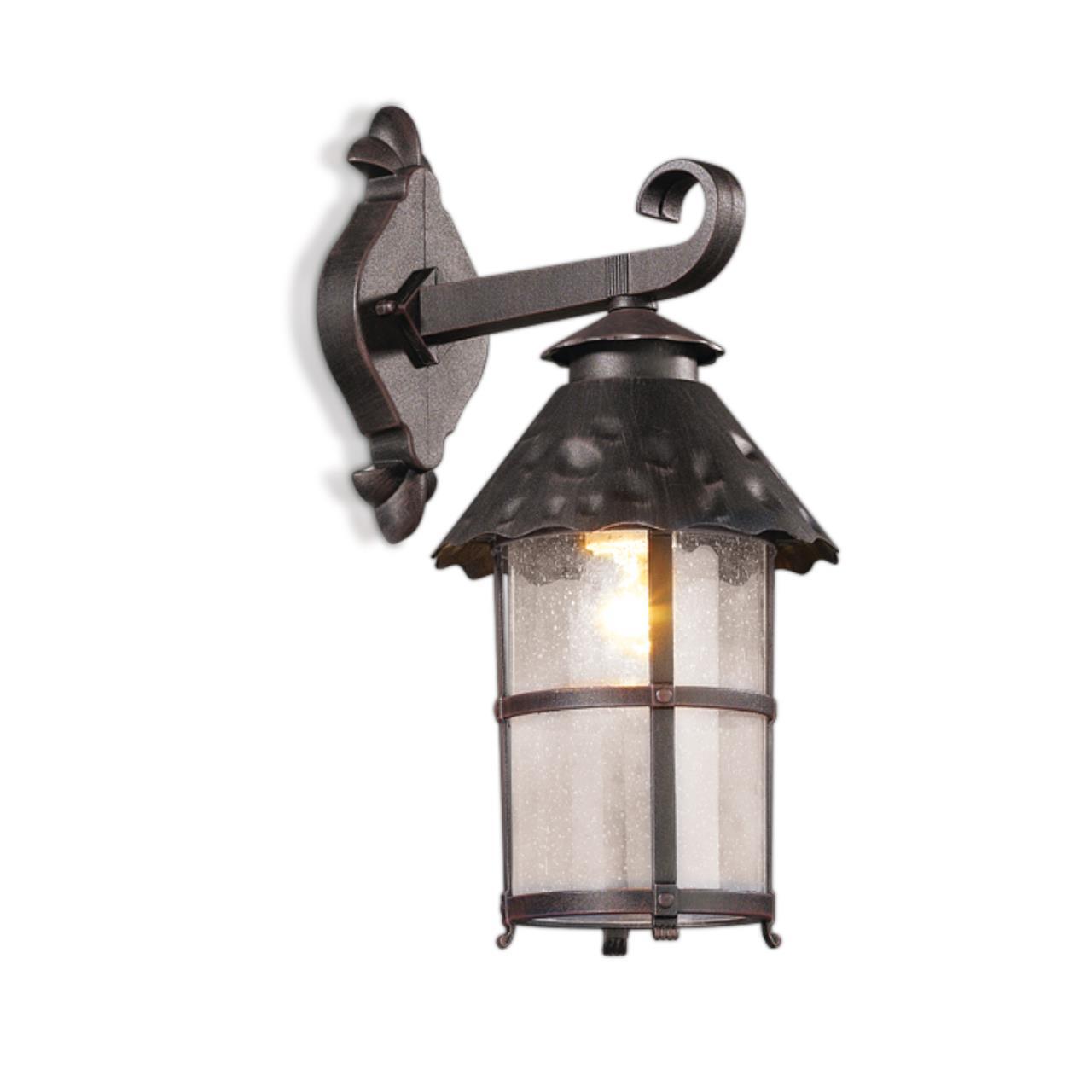 2313/1W NATURE ODL12 717 коричневый Уличный настен светильник IP44 E27 60W 220V LUMI