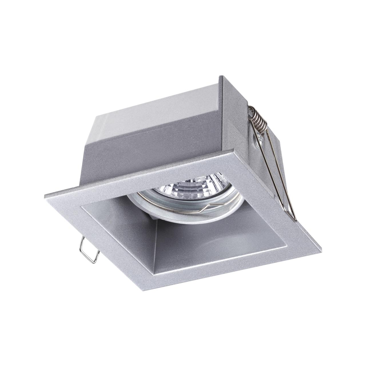 369639 SPOT NT12 131 алюминий Встраиваемый ПВ светильник IP20 GX5.3 50W 12V BELL