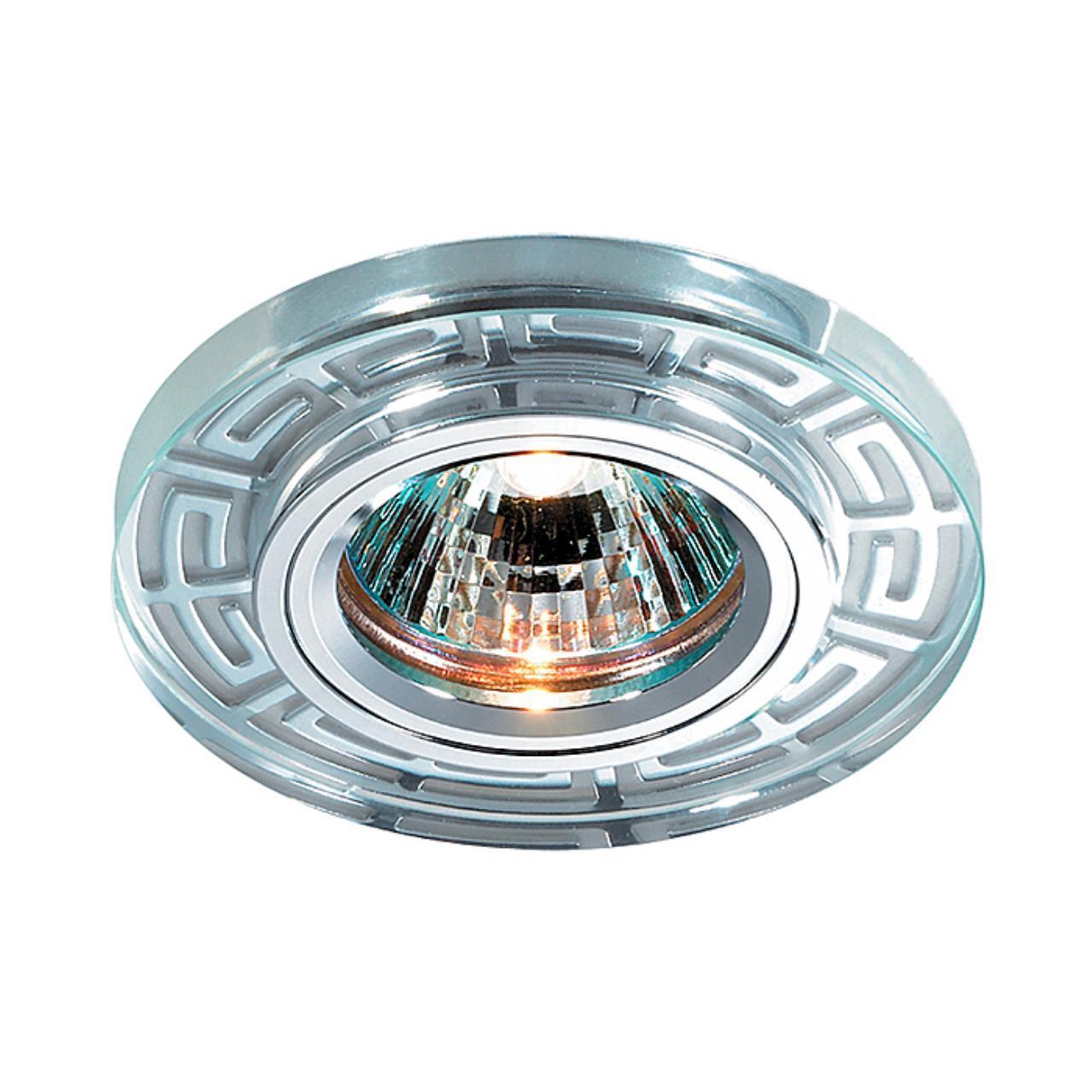 369584 SPOT NT12 127 хром Встраиваемый светильник IP20 GX5.3 50W 12V MAZE