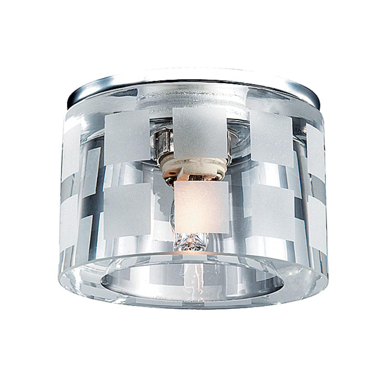 369808 SPOT NT12 126 хром Встраиваемый светильник IP20 G9 40W 220V NORD