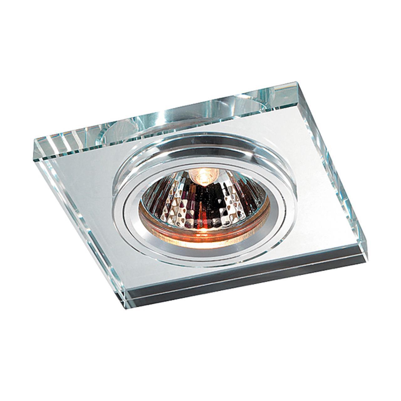 369753 SPOT NT12 131 алюминий/зеркальный Встраиваемый светильник IP20 GX5.3 50W 12V MIRROR
