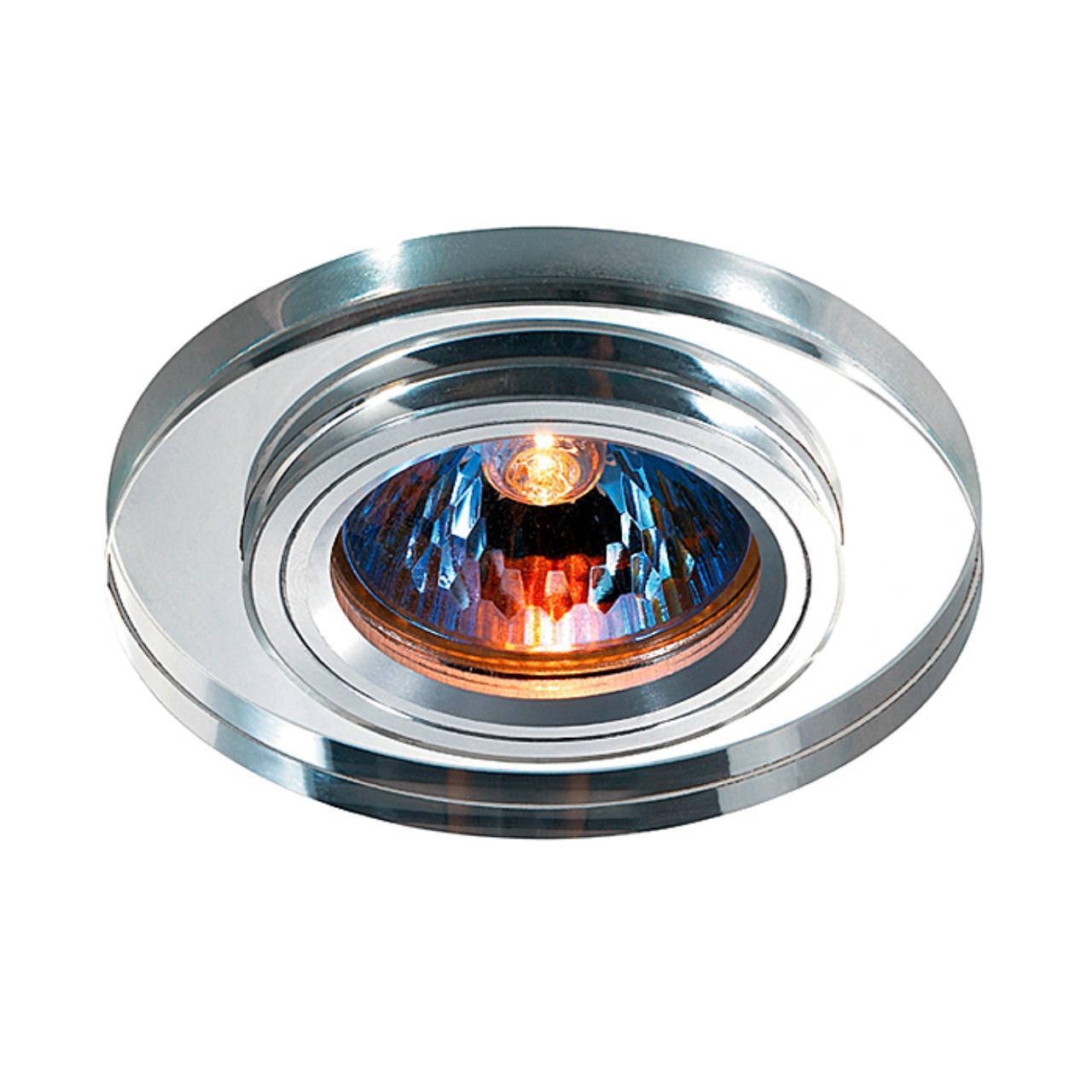 369756 SPOT NT12 131 алюминий/зеркальный Встраиваемый светильник IP20 GX5.3 50W 12V MIRROR
