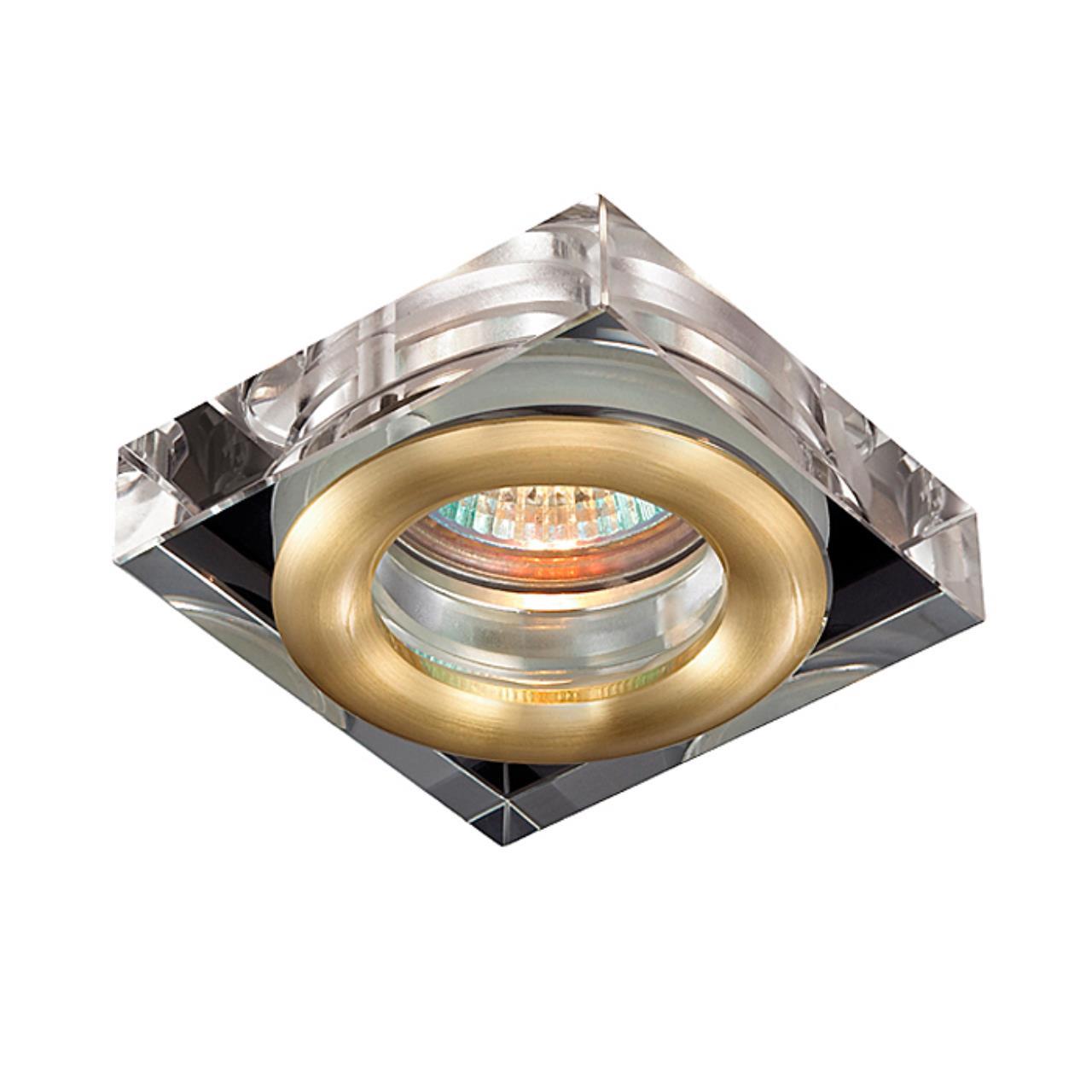369882 SPOT NT14 138 матовое золото Встраиваемый светильник IP54 GX5.3 50W 12V AQUA