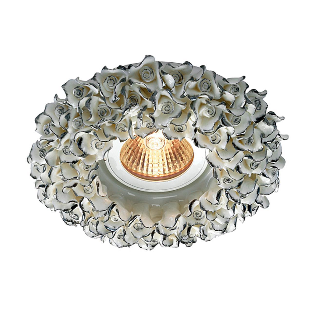 369950 SPOT NT14 120 белый/серебро Встраиваемый светильник IP20 GX5.3 50W 12V FARFOR