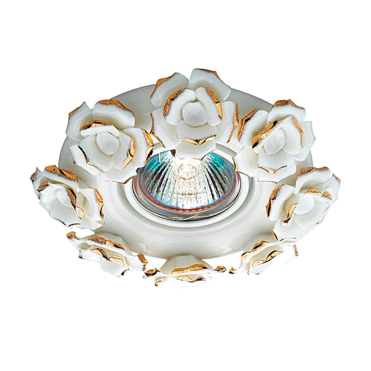 369871 SPOT NT14 120 белый/золото Встраиваемый светильник IP20 GX5.3 50W 12V FARFOR
