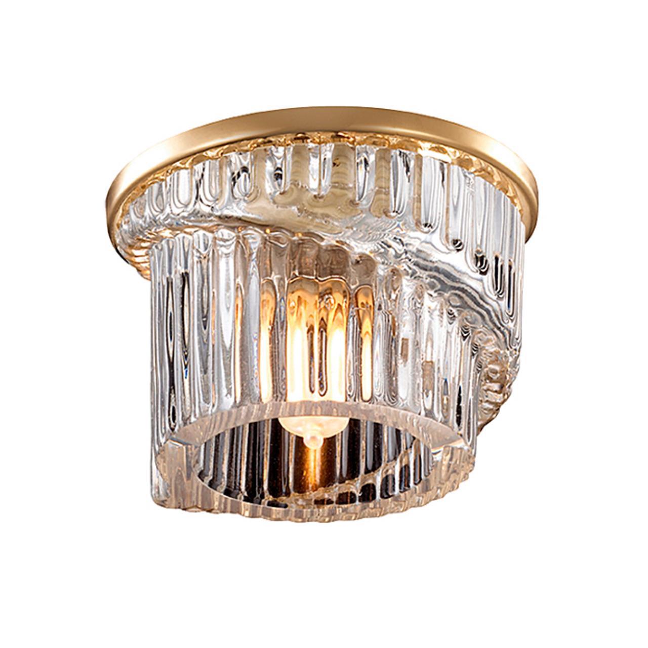 369901 SPOT NT14 125 золото Встраиваемый светильник IP20 G9 40W 220V DEW