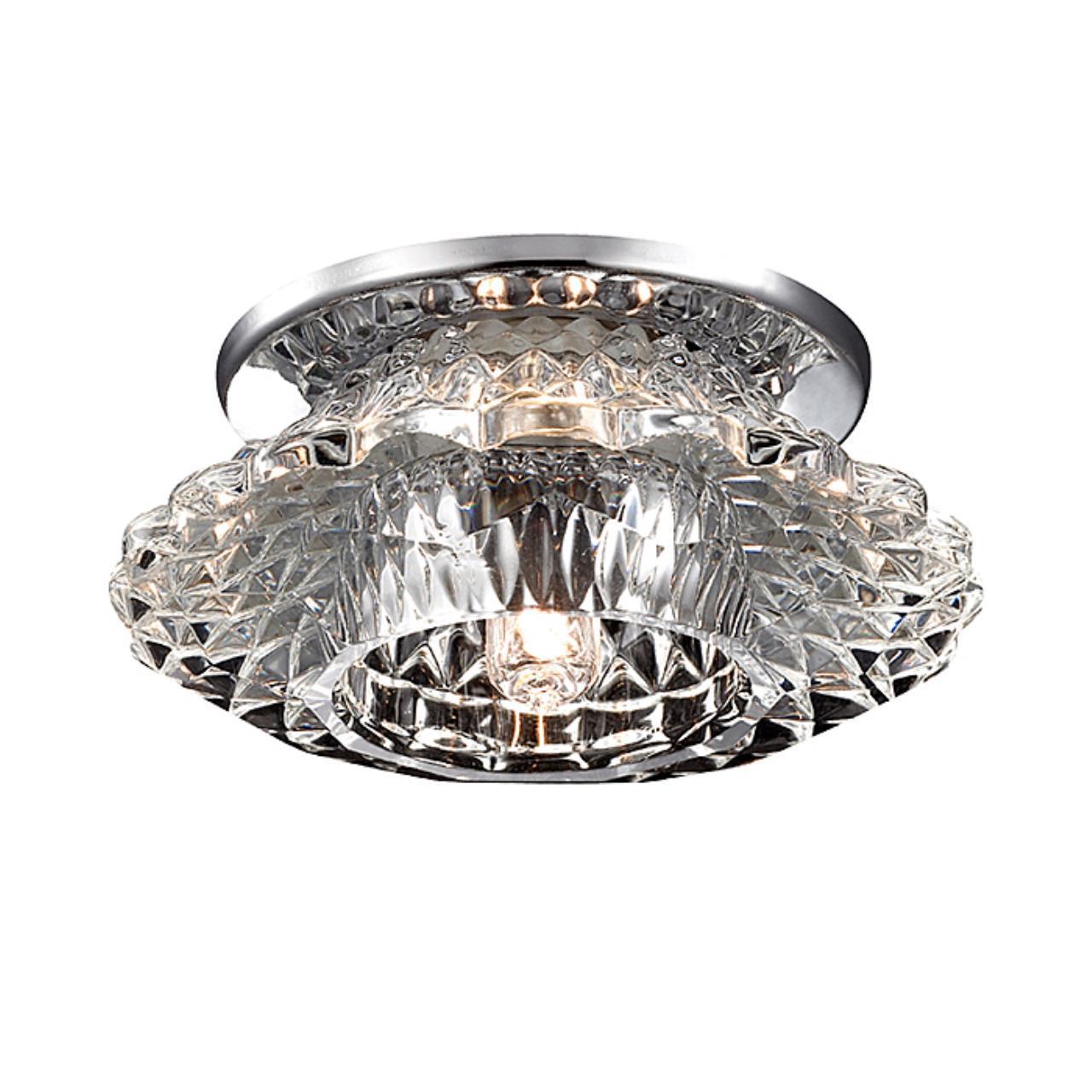 369923 SPOT NT14 126 хром Встраиваемый светильник IP20 G9 40W 220V ENIGMA